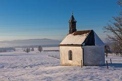 Kapelle St. Maria am Ortseingang von Pessenbach