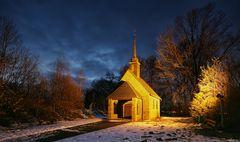 Kapelle zur blauen Stunde