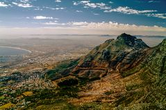 Kapstadt vom Hausberg
