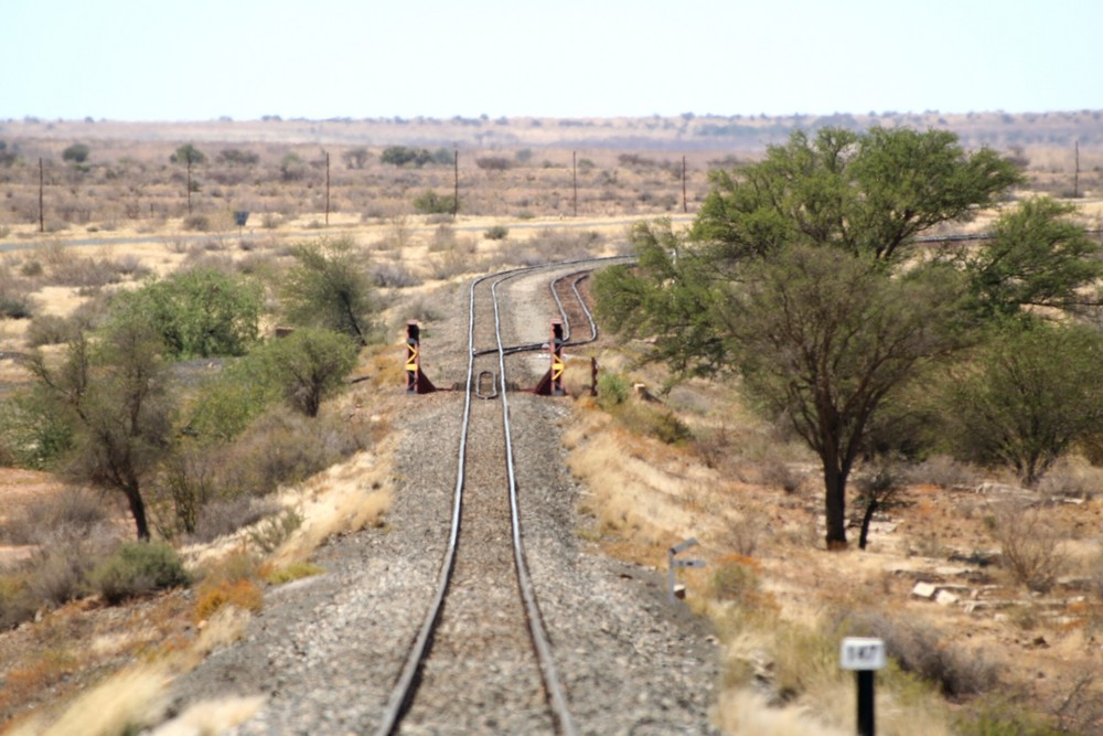 * Karasburg, railways & points *