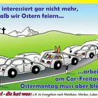 Karfreitag = Car-Freitag?!