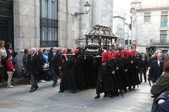 Karfreitag-Prozession in Santiago de Compostela