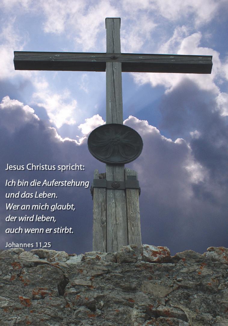 Karfreitag.....Johannes 11,25