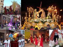 Karfreitagsprozession - Semana Santa - Gandia Spanien