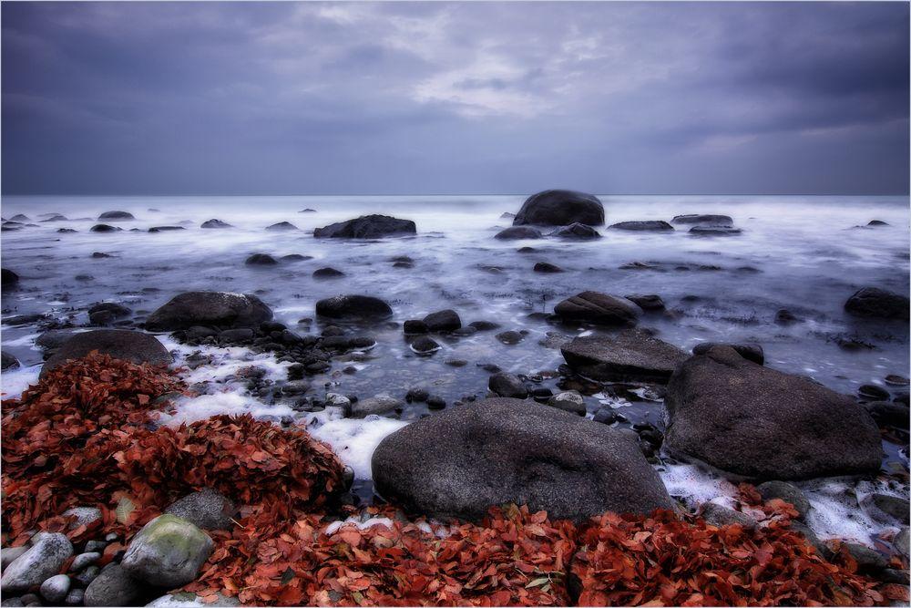 Karge Küstenlandschaft