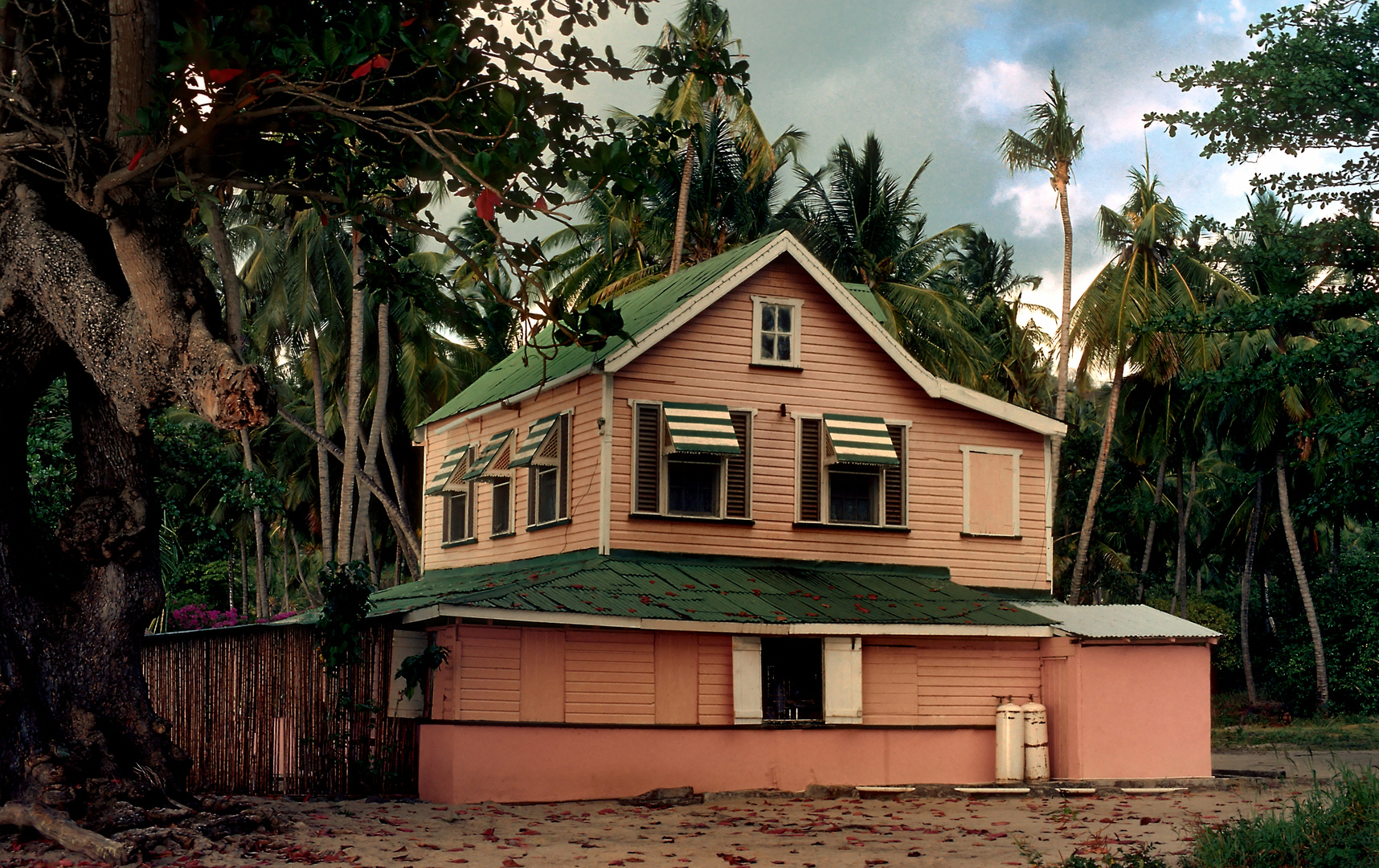 Karibik Architektur auf Grenada