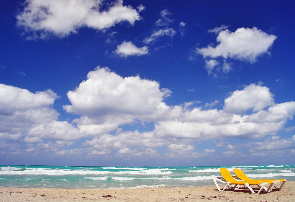 Karibik-blau statt November-grau