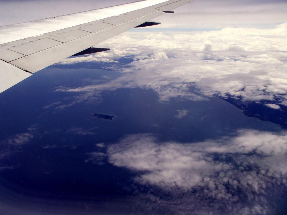 Karibik von oben
