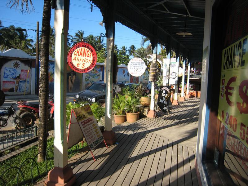 karibische Einkaufstraße