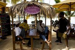 karibische Lässigkeit