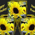 Karina hat Geburtstag