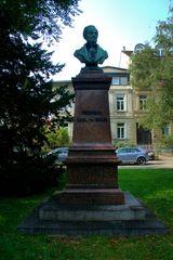 Karl Frhr. von Drais (* 29. April 1785 in Karlsruhe; † 10. Dezember 1851 in Karlsruhe)