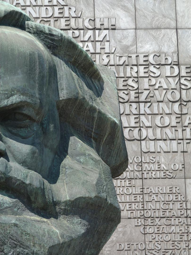 Karl-Marx Kopf von Chemnitz