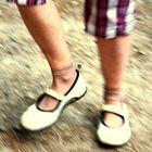 Karlas Füße