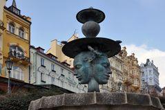 Karlsbad (Karlovy Vary), Brunnen am Schlossbad