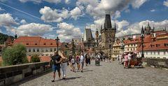 Karlsbrücke - Charls Bridge Prague - 2020