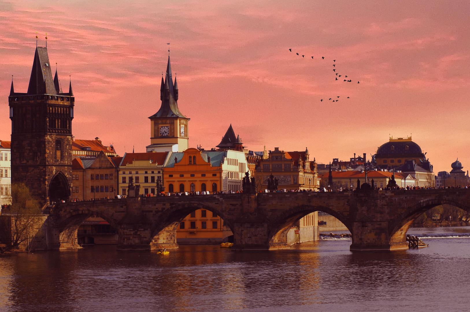Karlsbrücke /Prag