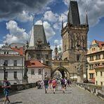 Karlsbrücke.Tschechien 2020