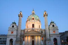 Karlskirche...
