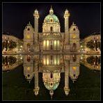 Karlskirche by night