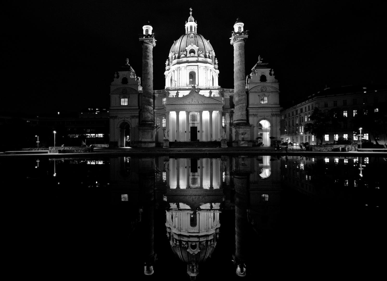 Karlskirche, Wien.