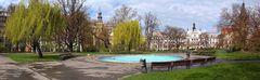 Karlsplatz im Frühling