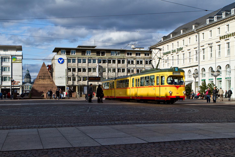 Karlsruhe Marktplatz