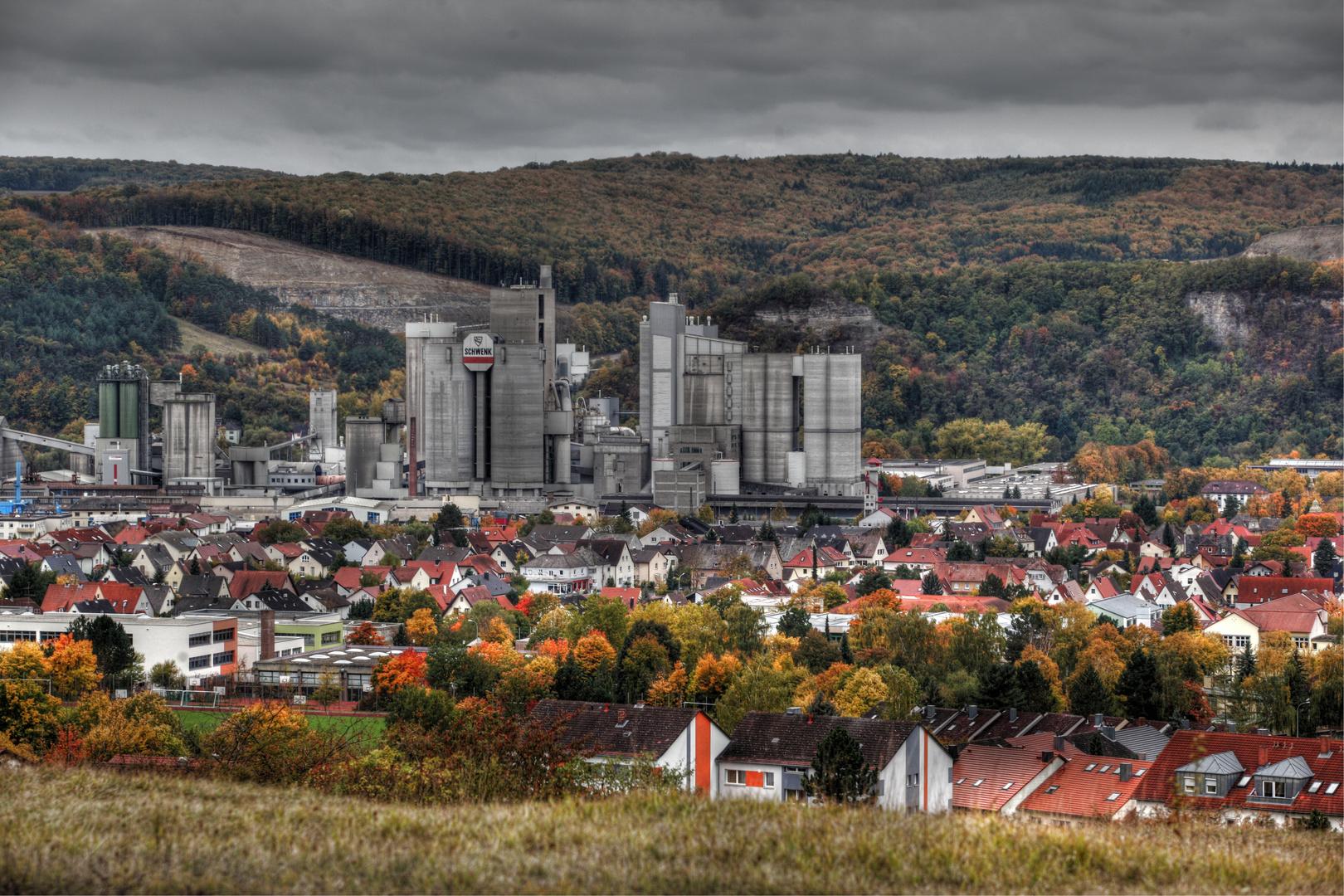 Karlstadt im Herbst