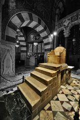 Karlsthron im Aachener Dom
