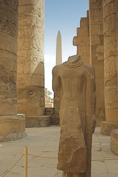 Karnak Tempel - Obelisk