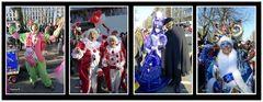 Karneval auf der Kö Düsseldorf