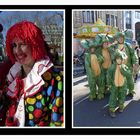 Karneval auf der Kö in Düsseldorf