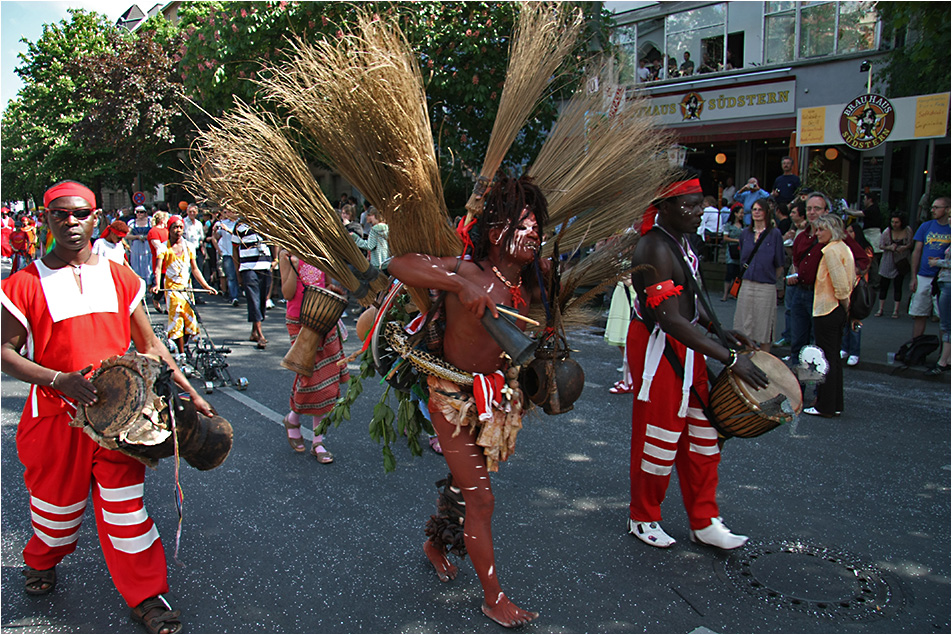 Karneval der Kulturen in Berlin (1-10)