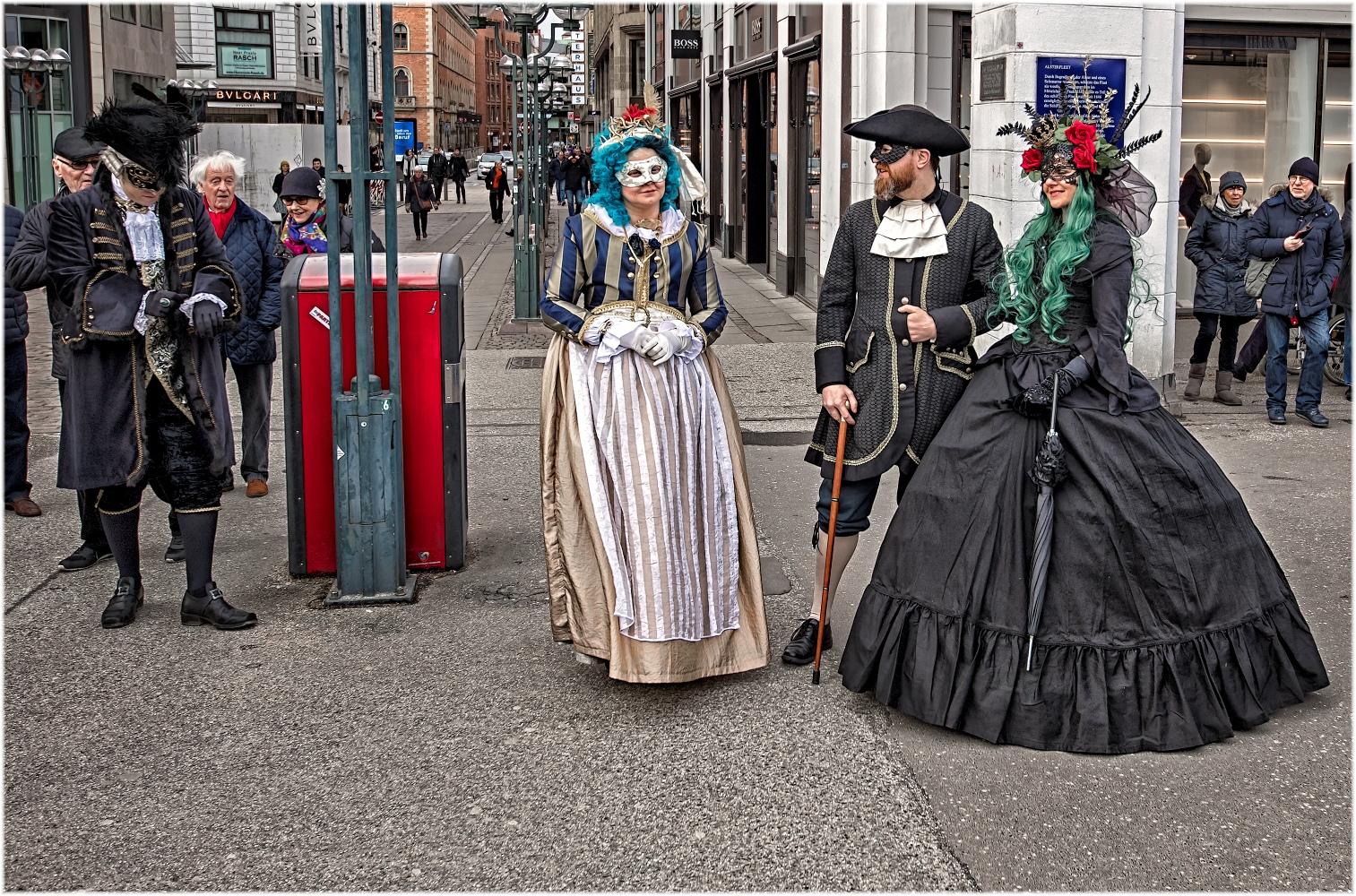 Karneval in ... Hamburg