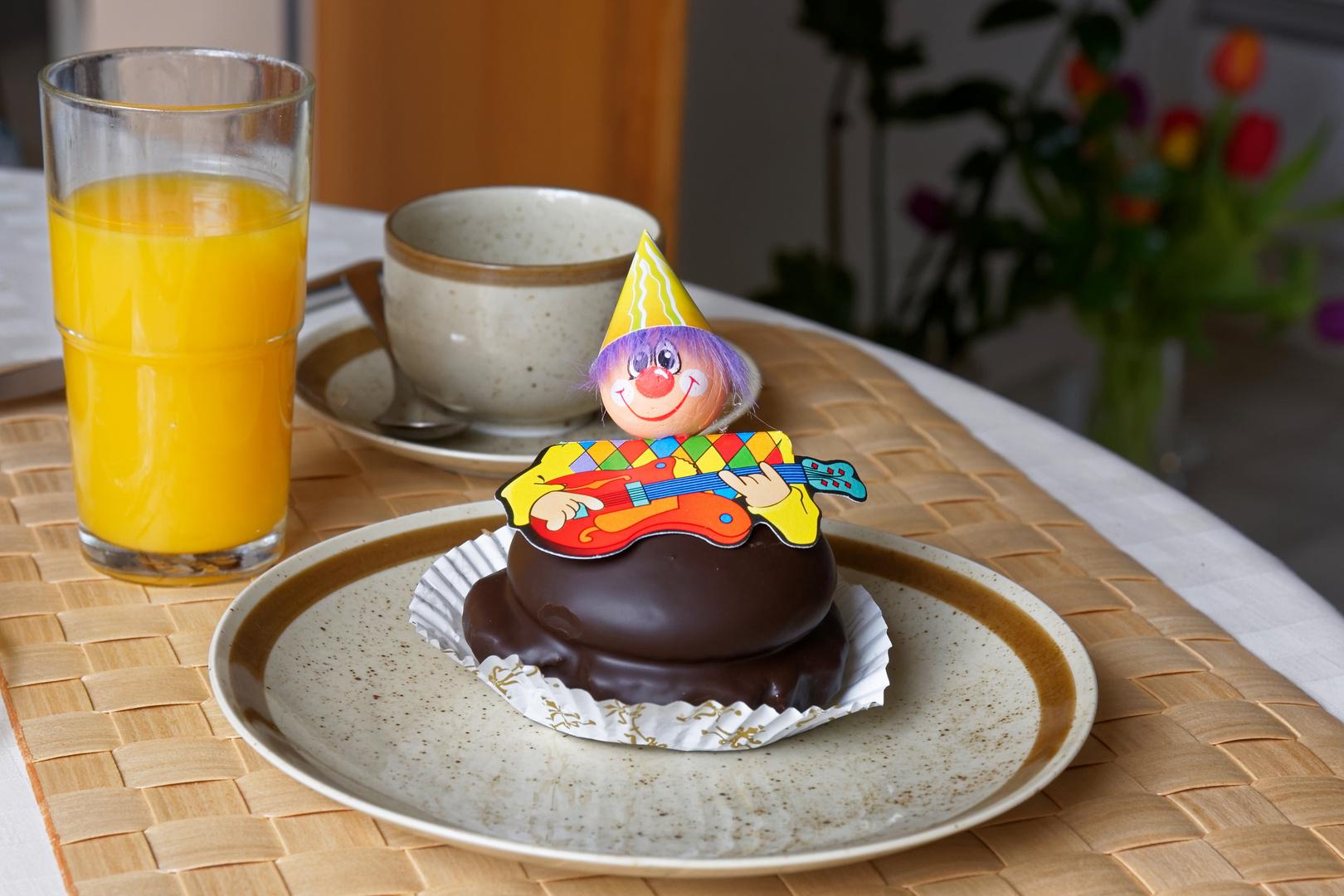 Karneval zum Frühstück