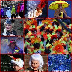 Karnevals Impressionen im Farbenrausch