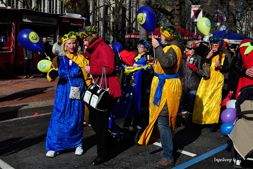 Karnevalssonntag in Düsseldorf 2012 -(2)