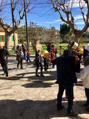 Karnevalsumzug in Piugpunyent
