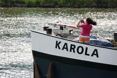 KAROLA macht Fotos...