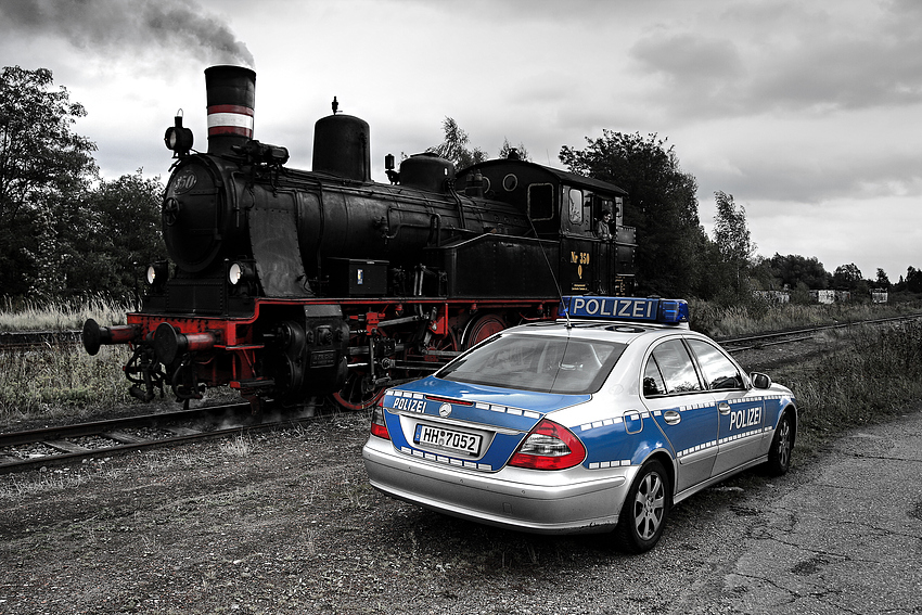 [ Karoline meets Polizei HH ]