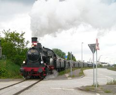 """Karoline"" Museumslok 350 Q in Fahrt"