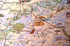 Karte um Quarzazate