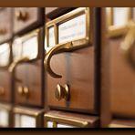 """Karteikasten in der """"Congress Library"""""""