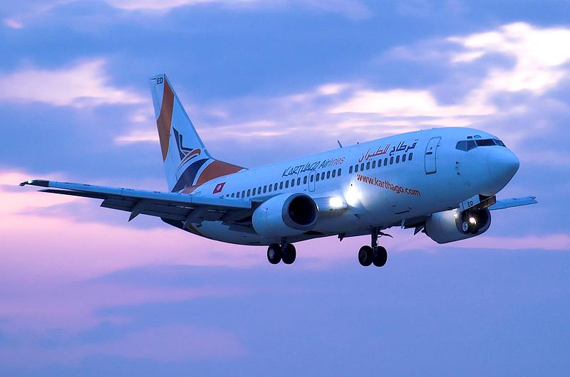 Karthago Airlines Boeing 737-300, Brno-Turany (BRQ)