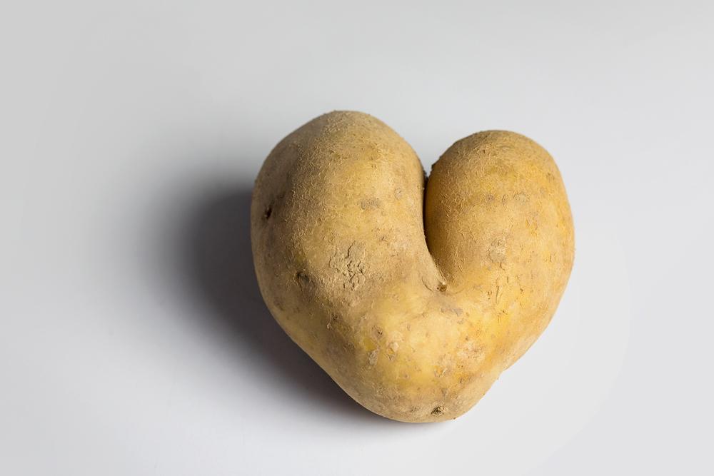 Kartoffel mit Herz