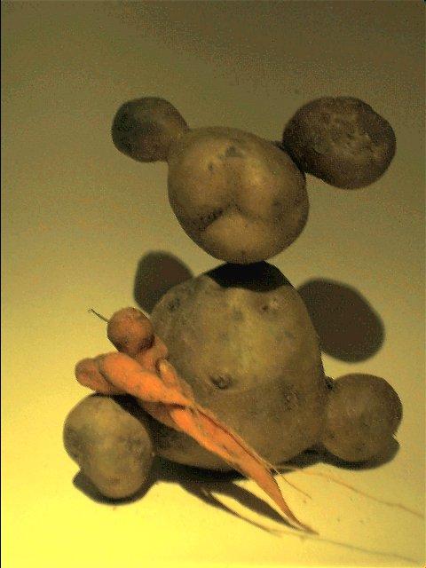 Kartoffelbär und Möhrenkind