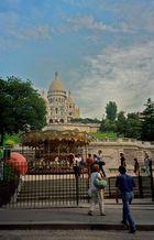 Karusell in Paris Montmatre