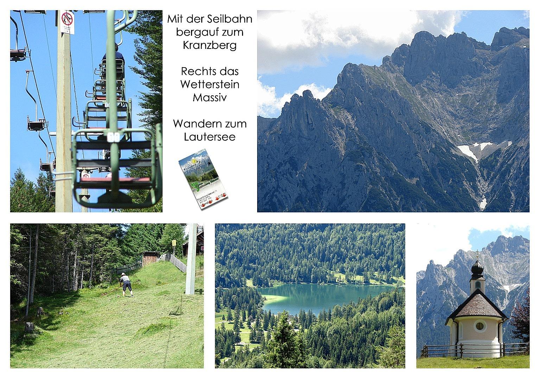 Karwendel Kranzberg Wetterstein Lautersee