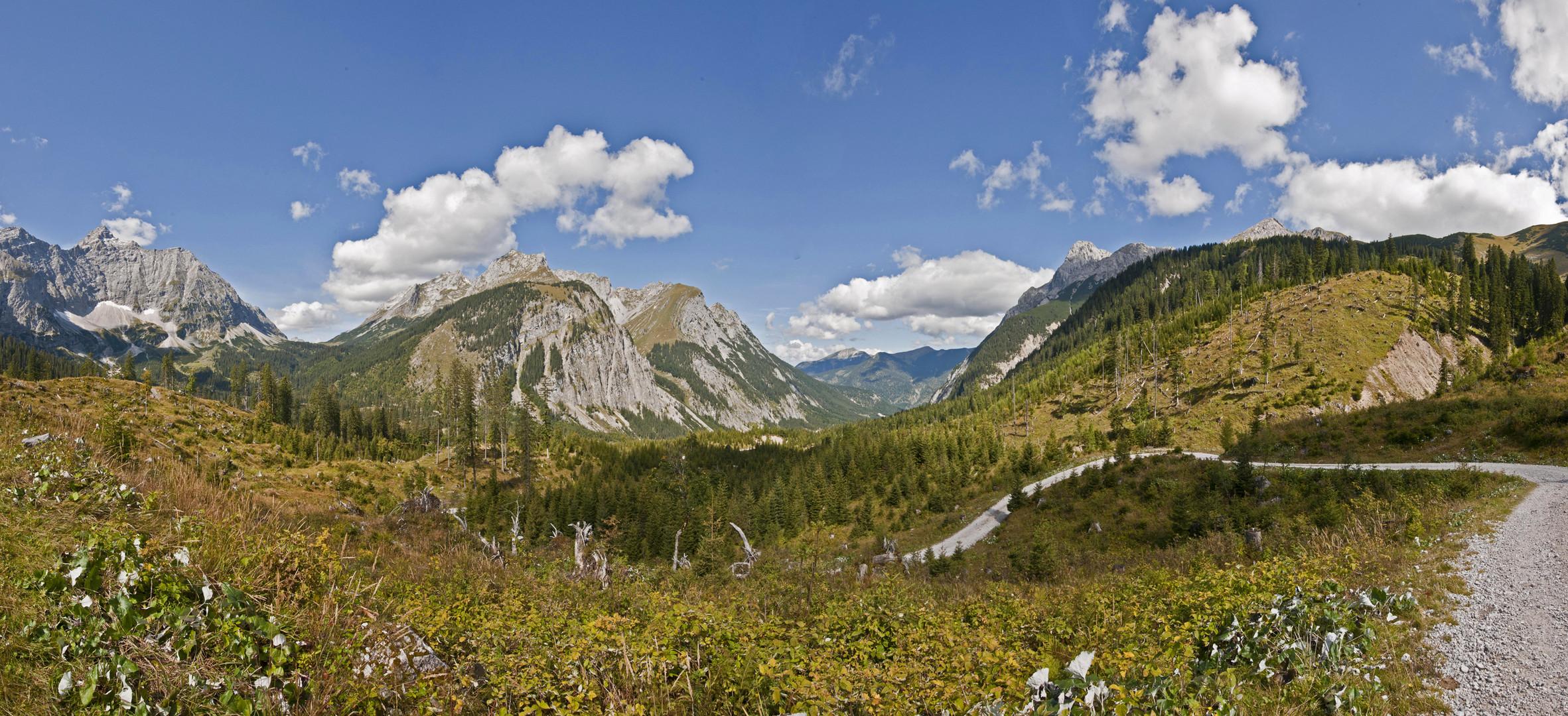 Karwendelgebirge - Hinterriss Österreich