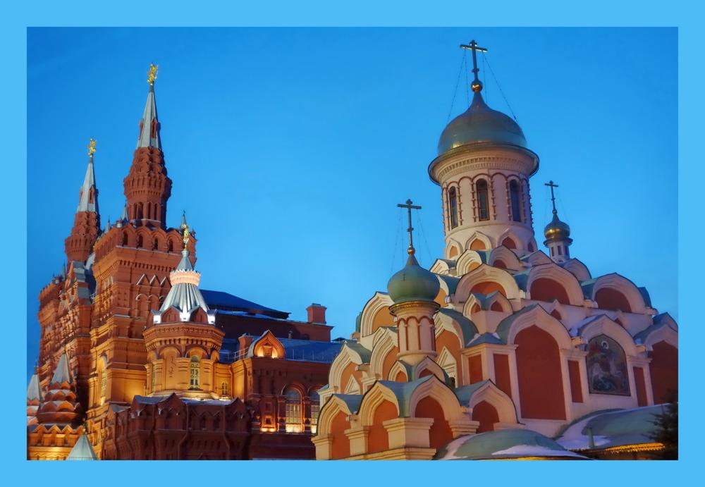 Kasaner Basilika, Moskau